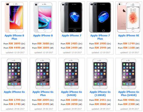 Handphone Iphone Malaysia harga iphone di malaysia terkini
