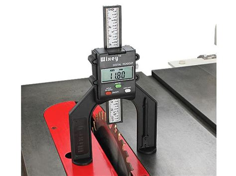 measuring depth  height gemred router