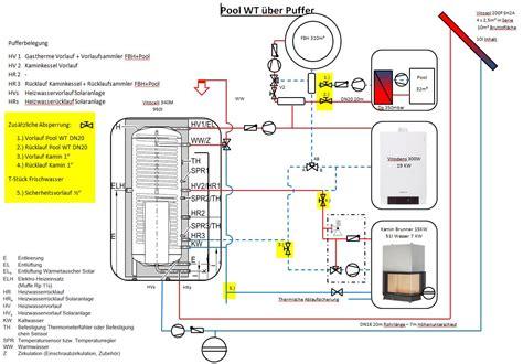 Gas Durchlauferhitzer Pool by Hydraulikschema Viessmann Haustechnikdialog