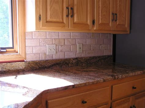 Decorating. Chic Travertine Tile Kitchen For The Beauty Of