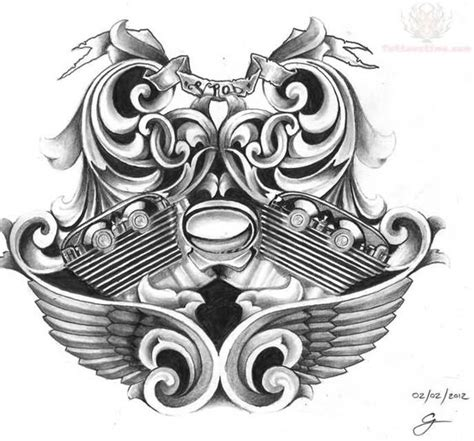 harley engine tattoo designs harley davidson flowers harley davidson bike engine