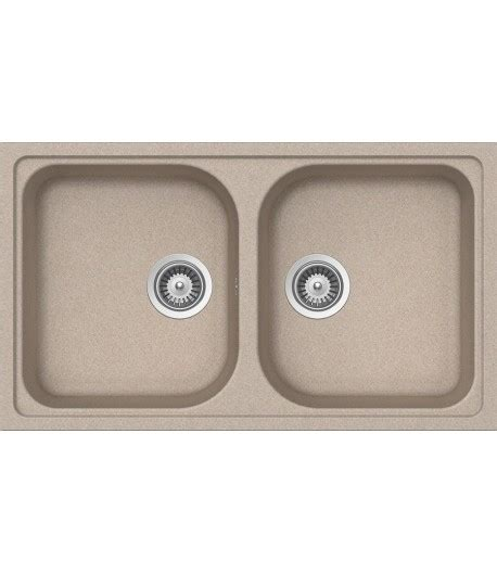 lavello cucina doppia vasca lavello sintetico lithos