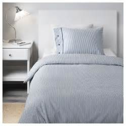 white and blue duvet cover nyponros quilt cover and 2 pillowcases white blue 150x200