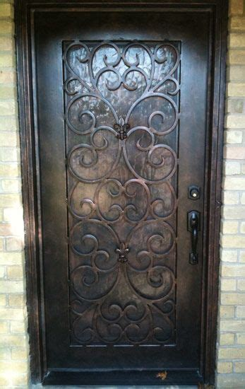 Wrought Iron Exterior Door Pin By Cheryl Redden On Diy Home Decor Pinterest