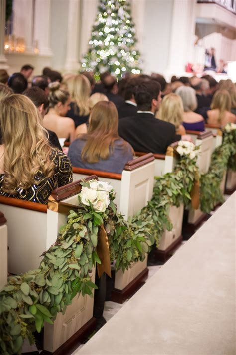 13 Beautiful Décor Ideas for a Church Wedding   the knot