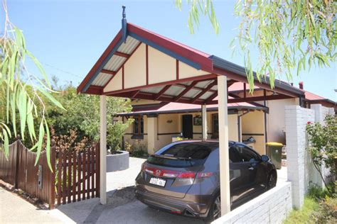 Carport Roof Gable Roof Carport In Perth Carports Gallery Softwoods