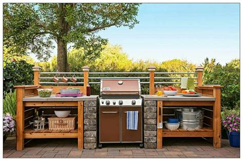 great ideas of cheap outdoor kitchen grill patio ideas 25 best ideas about grill station on pinterest backyard