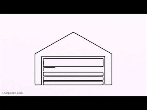 garage drawing 1300 how to draw garage step by step drawing lesson