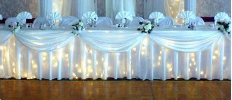 not sure decorate wedding party table weddingbee