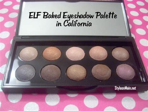 Promo Baked Eyeshadow Palette 25 monthly makeup challenge nyx
