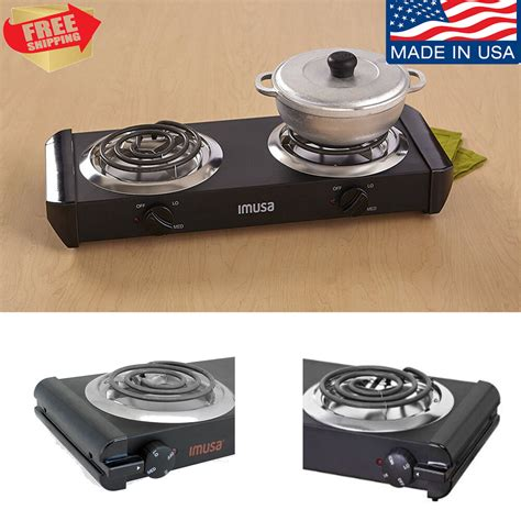 Burner Portable Cooktop by Portable Electric Burner Cooktop Stove Plate