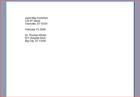 how to type a professional letter with pictures ehow