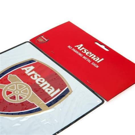 arsenal gift shop arsenal fc no parking sign afc merchandise gifts shop