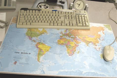 world map desk mat giant mouse pad world map desk pad and mouse pad