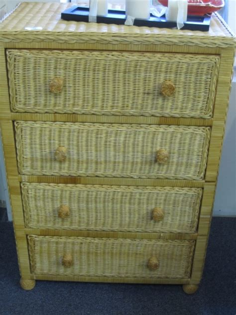 Wicker Drawer Chest by Wicker Chest Of Drawers In Johns Island Sc
