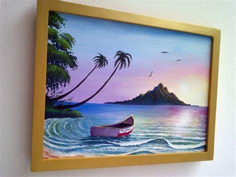 pintar cuadros con pintura acrilica cuadro pintura al oleo pintura acr 237 lica ocaso paisaje