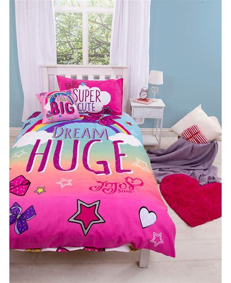 Jojo Bedding Sets Jojo Siwa Bedding Jojo Bows Single Duvet Cover