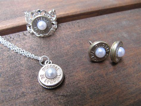 bullet jewelry 38 special bullet jewelry set with earrings