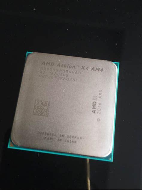 Amd Athlon X4 950 Bristol Ridge 3 5ghz Up To 3 8ghz Socket Am4 m 225 me fotky procesoru amd pro nov 253 socket am4 ahtlonu x4 950 cnews cz