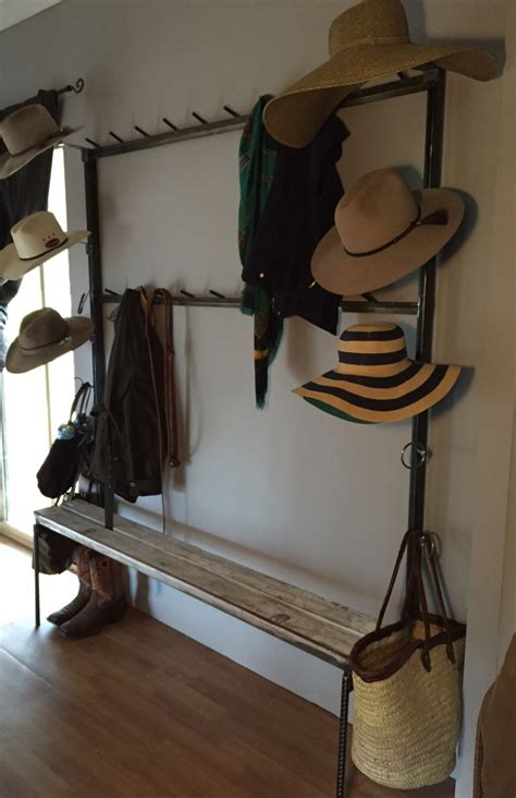 country style coat rack country style coat hat rack with bench