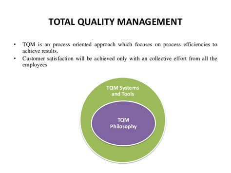Total Quality Management Mba Assignment by Tqm At Tata Steel