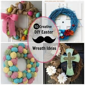 easter wreath ideas 10 creative diy easter wreath ideas