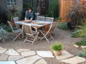 Paver And Gravel Patio Garden Design With Paving Stones House Beautiful Design