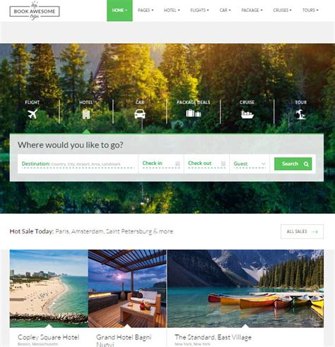 best site to book hotels 20 best html responsive booking templates for travel