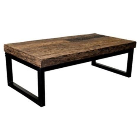 wood top coffee table metal legs foter