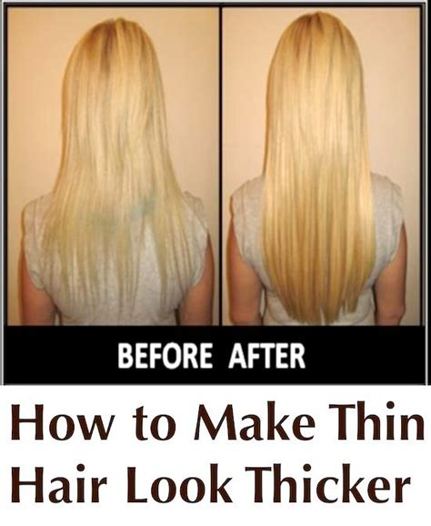does karatin make hair look thinner 5 genius ways to make your thin hair look seriously thick