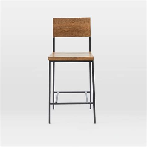 West Elm Rustic Bar Stool by Rustic Bar Stool Counter Stool West Elm