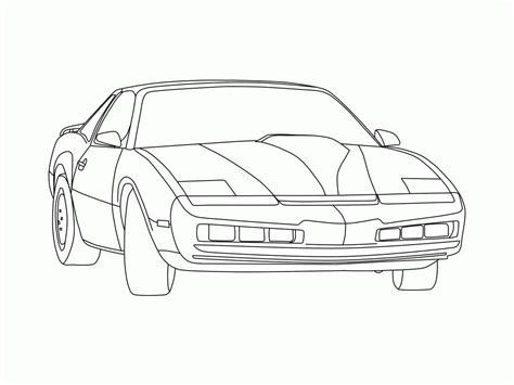 Coloring Pages Knight Rider | knight rider coloring pages az coloring pages