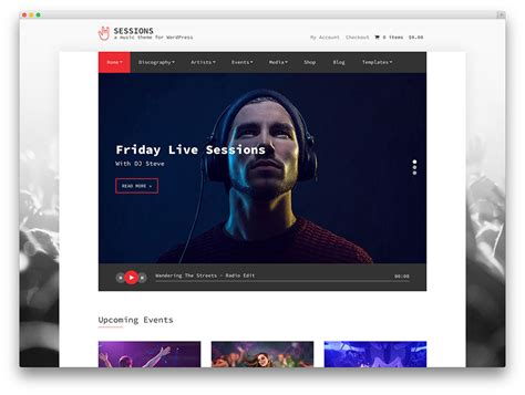 best house music download sites 24 of the best wordpress themes for musicians 2018 colorlib