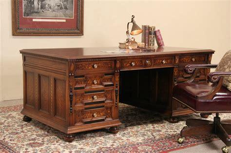 stow davis executive desk sold stow davis 1920 s executive desk walnut ebony
