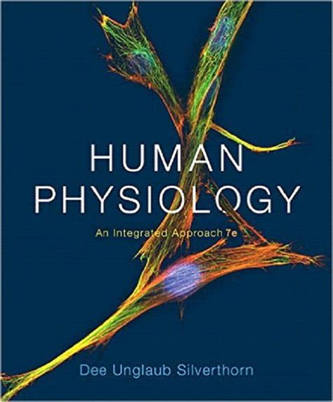 silverthorn human physiology an integrated approach 7th