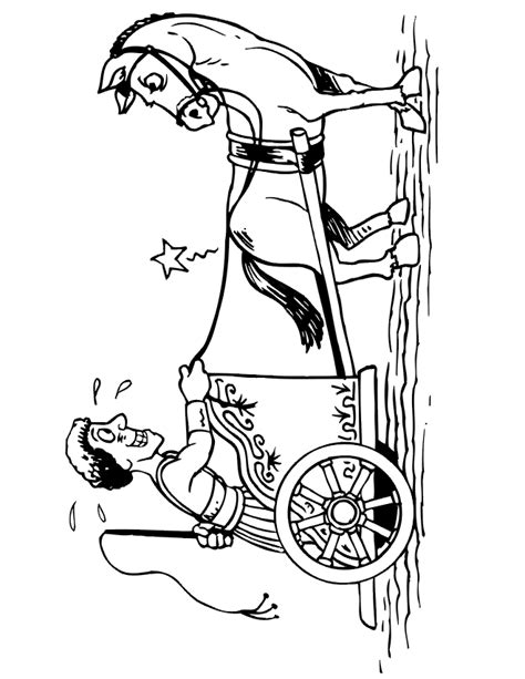 chariot template chariot coloring pages