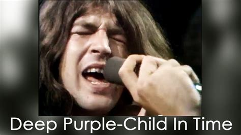 the child in time deep purple child in time 1970 youtube