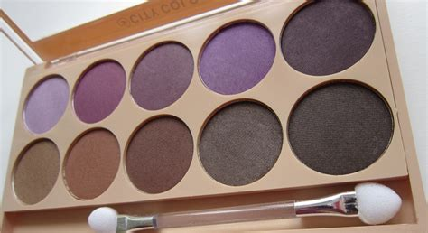 City Color Brown Sugar Eye Shadow Palette city color makeup review indonesia makeup