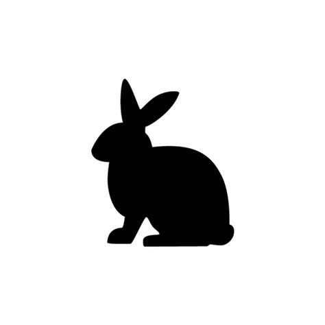 printable rabbit stencils bunny stencil clipart best