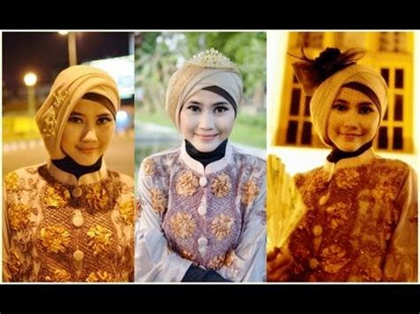 tutorial hijab wisuda paris tutorial hijab modern paris tutorial hijab pesta dan
