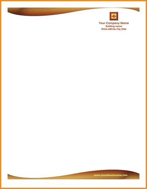 9 letterhead designs free download nurse resumed