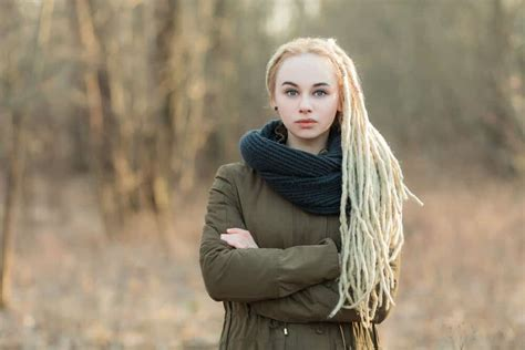exotic blonde dreads hairstyles  women hairstylecamp