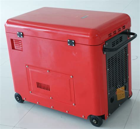 bison type 220v 3kw silent diesel generator for