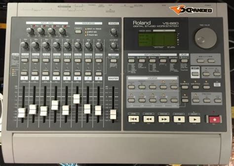 Item Roland Vs 880 Digital Studio Workstation Japan roland vs 880 digital studio workstation with cd burner reverb