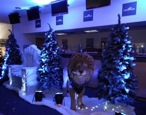 The Theme Of The The Witch And The Wardrobe by Prego Events Narnia Themed Event