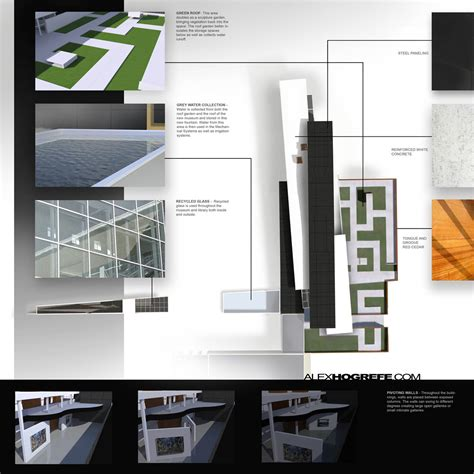 Past Presentation Boards Part 3 Visualizing Architecture Architecture Presentation Board Layout