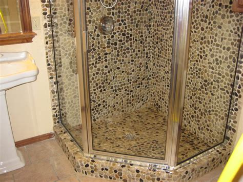 pebble bathroom tiles 26 nice pictures and ideas of pebble bath tiles