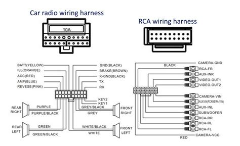 2005 nissan altima car stereo radio wiring diagram autos