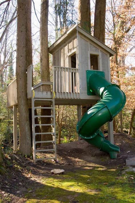 backyard treehouse ideas best 25 tree house deck ideas on tree deck