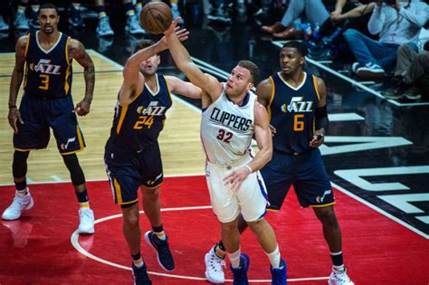 by blake griffin the standoff the players tribune jazz shootaround rocking arena presents challenges for